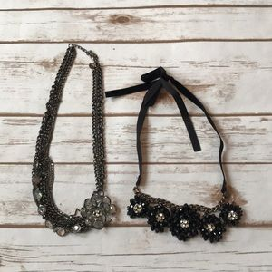 Floral necklace bundle